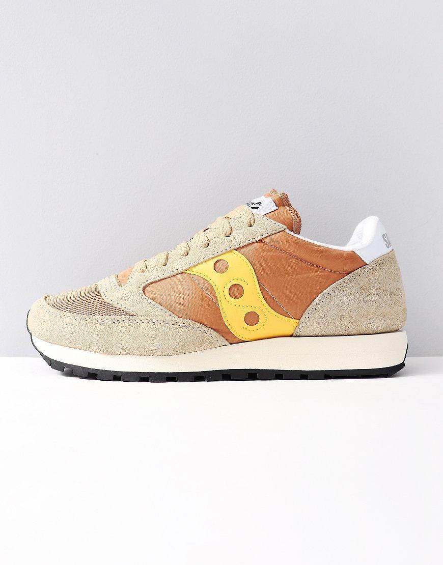 Saucony Jazz OG Sneakers Tan/Yellow
