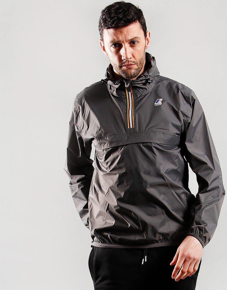 K-Way Leon 3.0 Jacket Grey Smoke