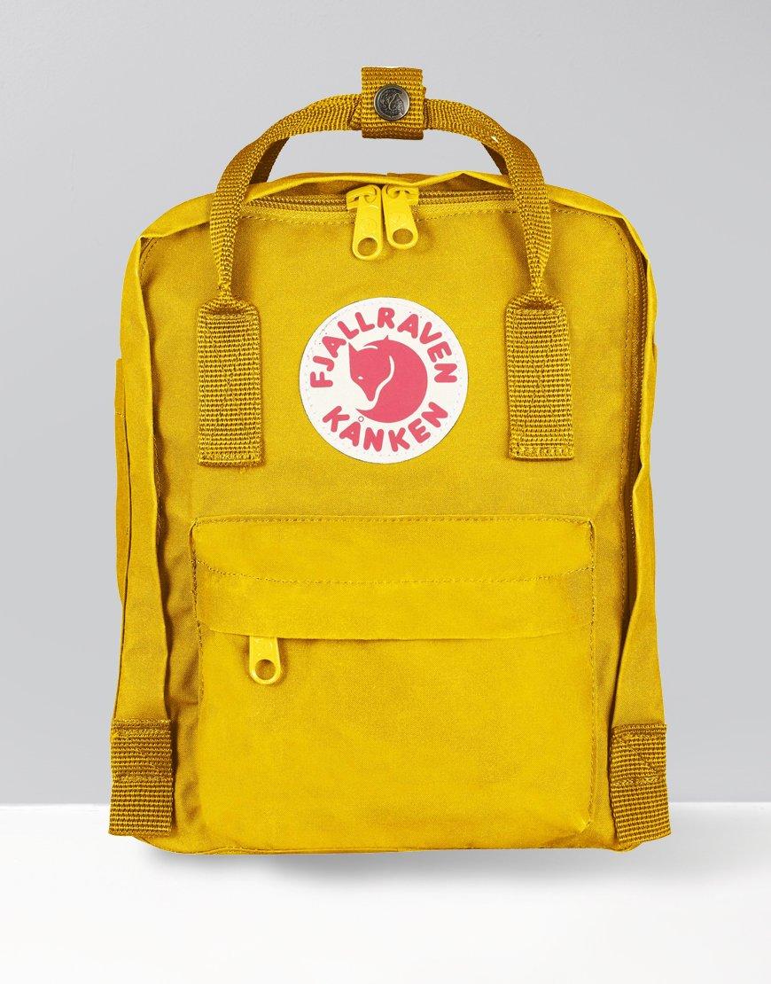 Fjällräven Kånken Mini Backpack Warm Yellow