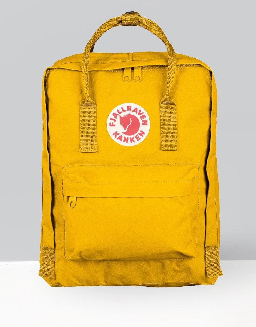 Fjällräven Kånken Backpack Warm Yellow