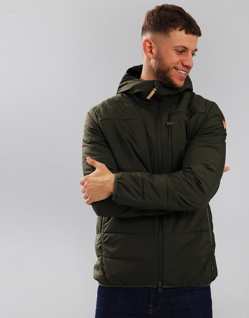 Fjällräven Keb Padded Hooded Jacket Deep Forest