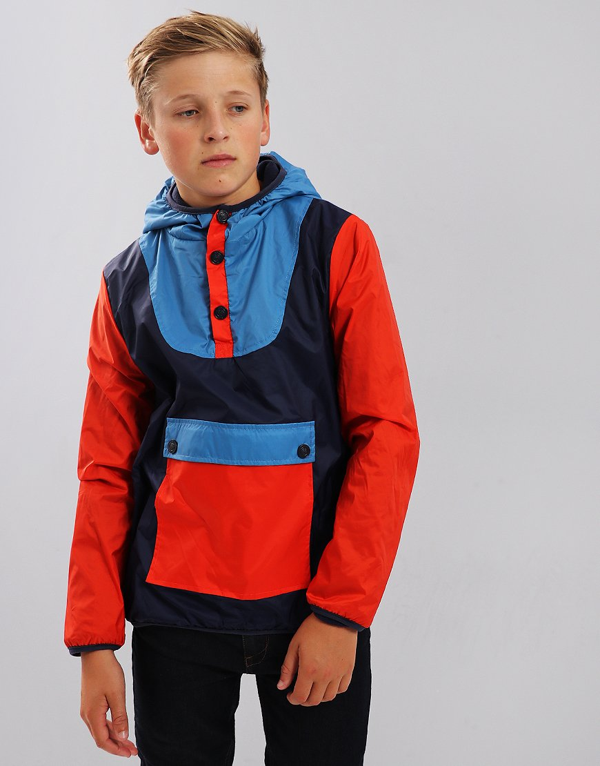 Kenzo Kids Edano Frozen Windcheater Jacket Navy