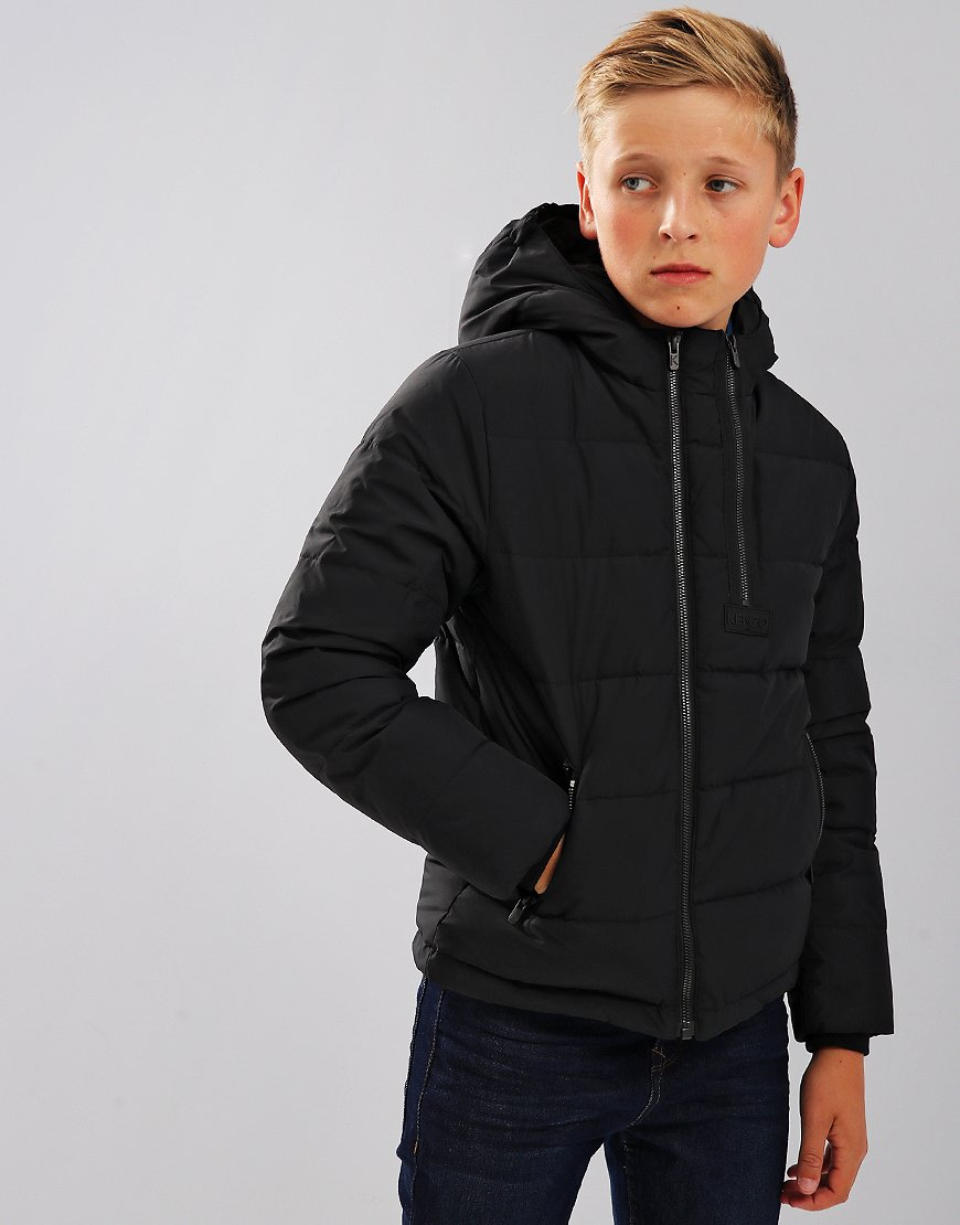 cca9d37f7 Kenzo Kids AW18 Jackets Edmond Black - Terraces Menswear