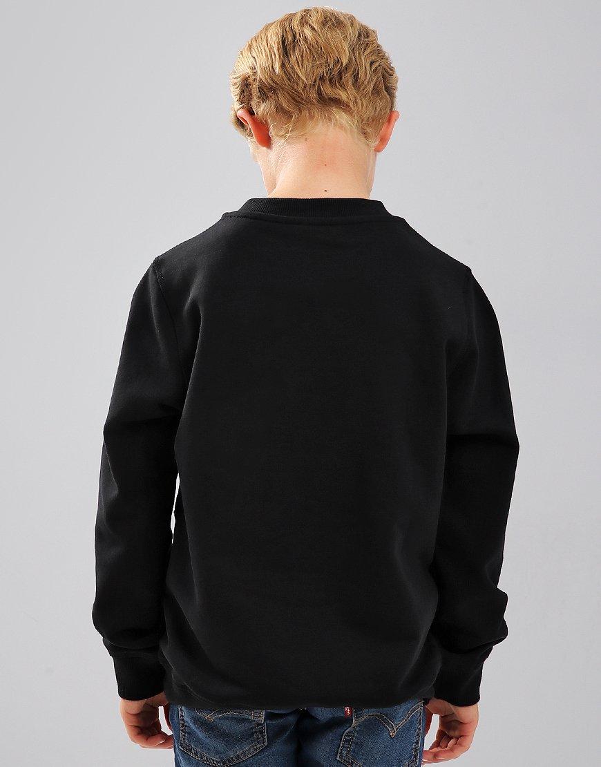 Kenzo Kids Tiger Logo JB6 Sweatshirt Black - Terraces Menswear 885dcccfd