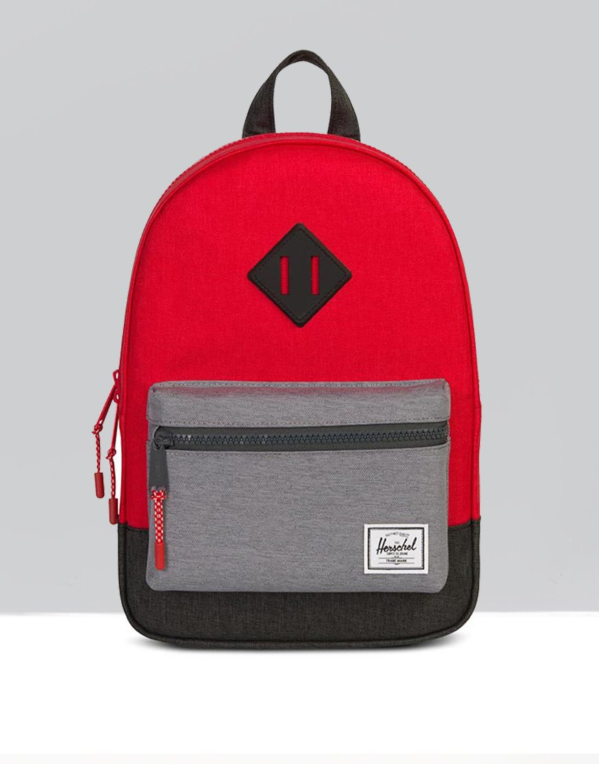 Herschel Youth Heritage Backpack Barbados Cherry