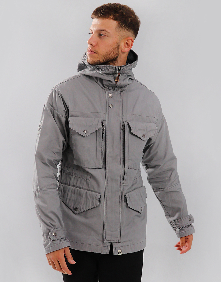 Pretty Green Kildare Jacket Light Grey