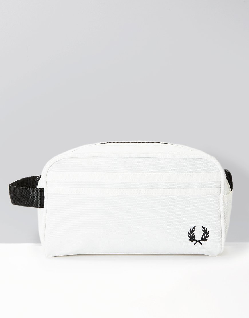 Fred Perry Travel Kit Bag Snow White