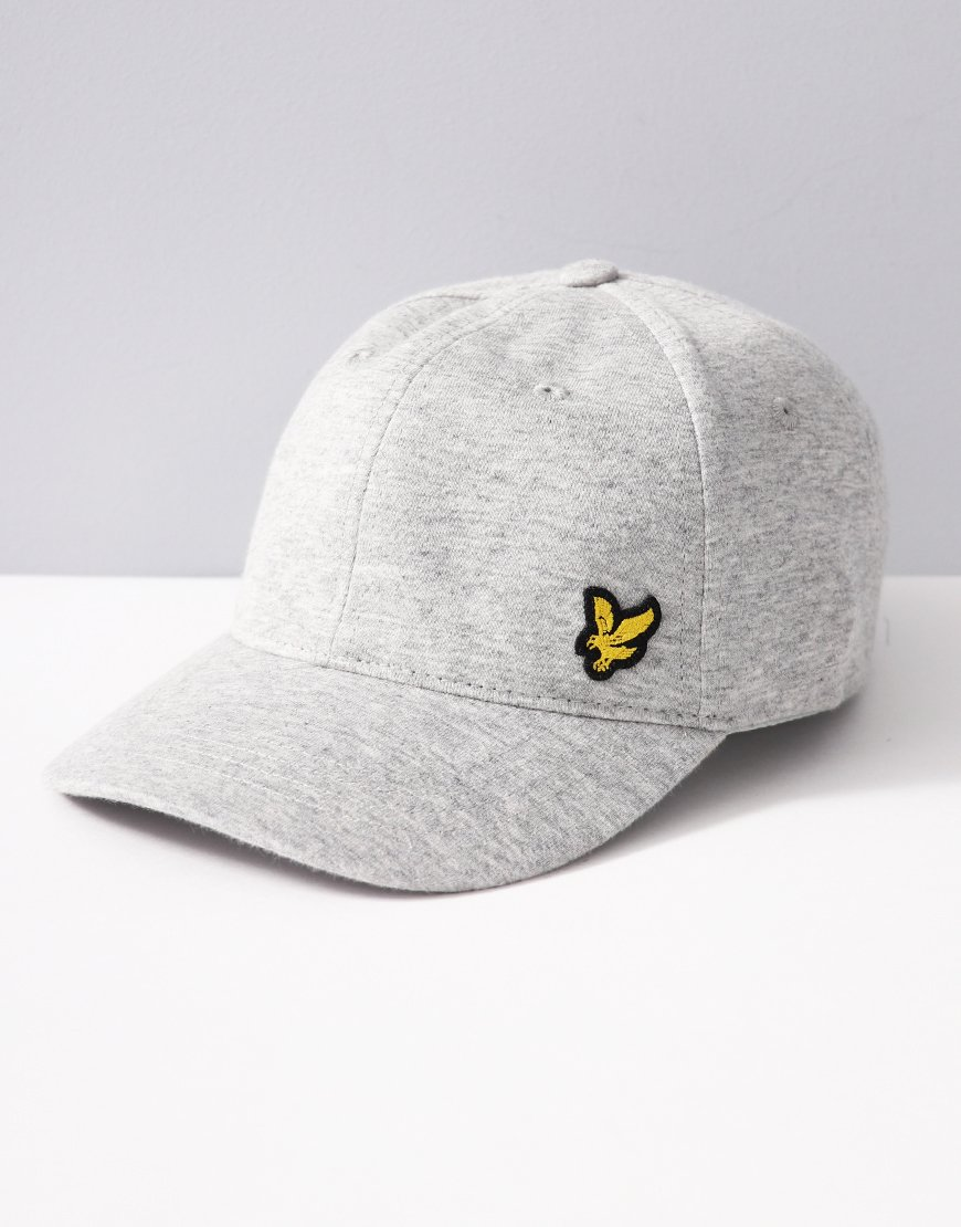 Lyle & Scott Junior Knit Cap Vintage Grey Heather