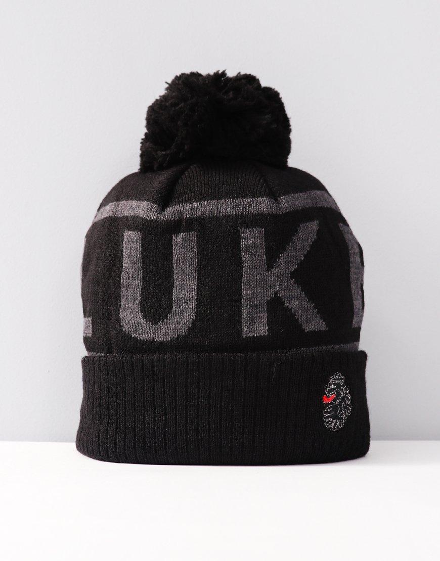 Luke 197 Koo Knitted Hat Charcoal