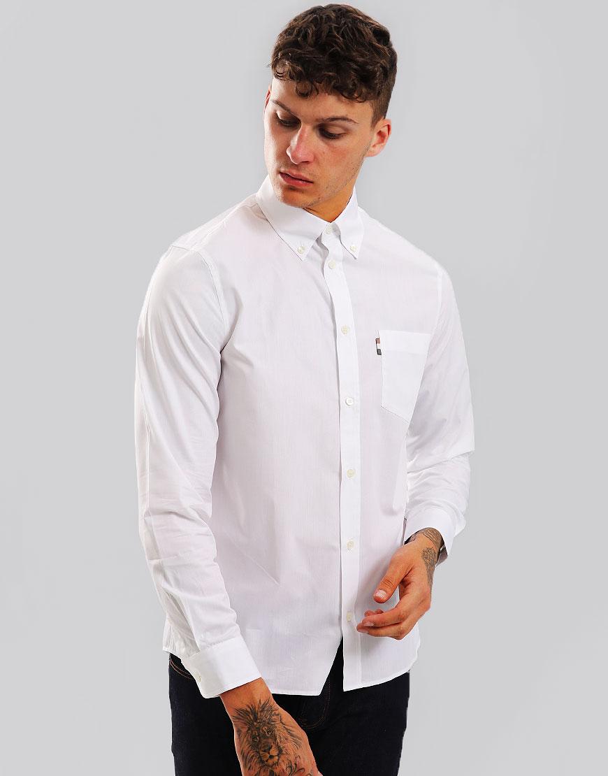 Aquascutum Casper Poplin Shirt White