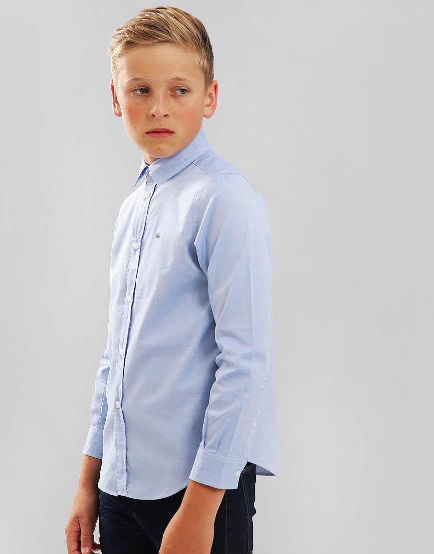 Lacoste Kids Oxford Cotton Shirt Rill
