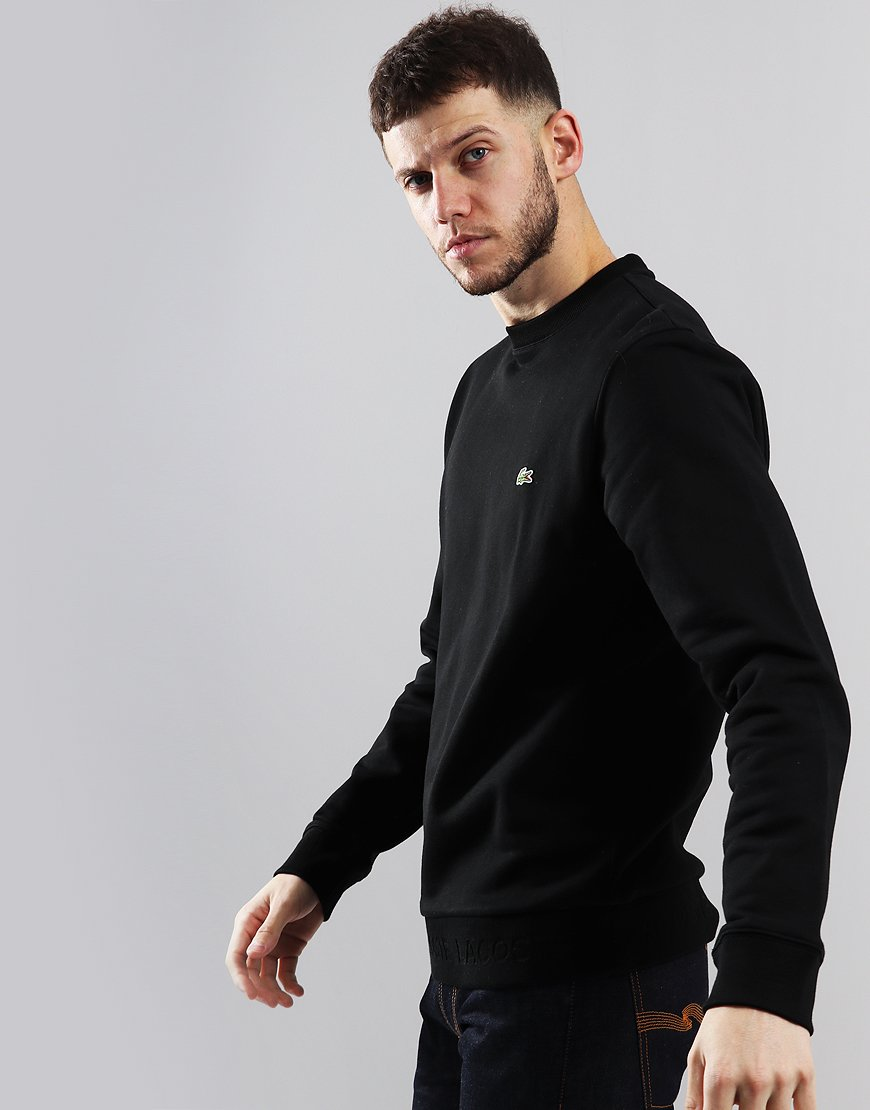 Lacoste Crew Neck Sweat Black