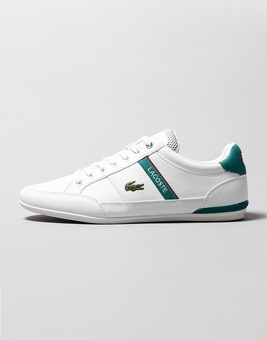 Lacoste Chaymon 120 Trainers White/Green