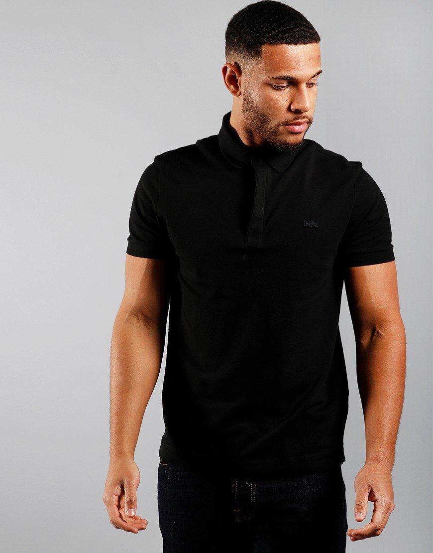Lacoste Paris Polo Shirt Black