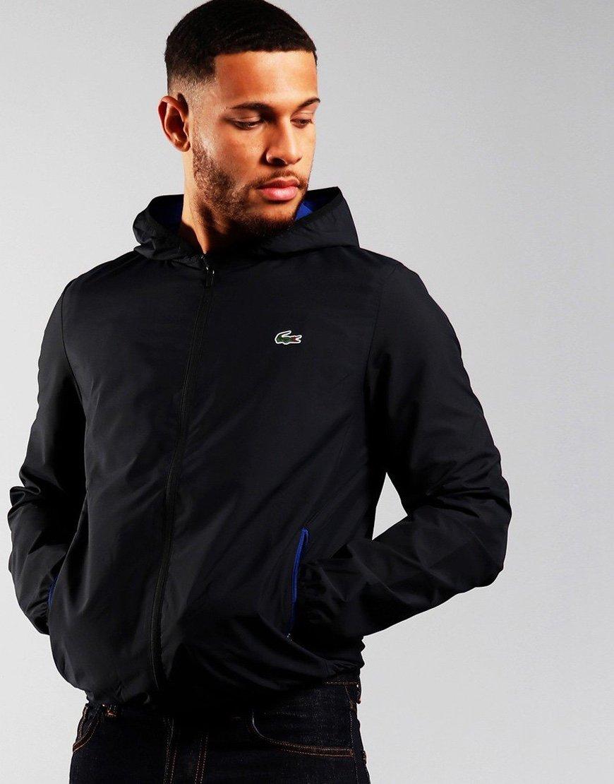 Lacoste SPORT Hooded jacket Black/Cosmic