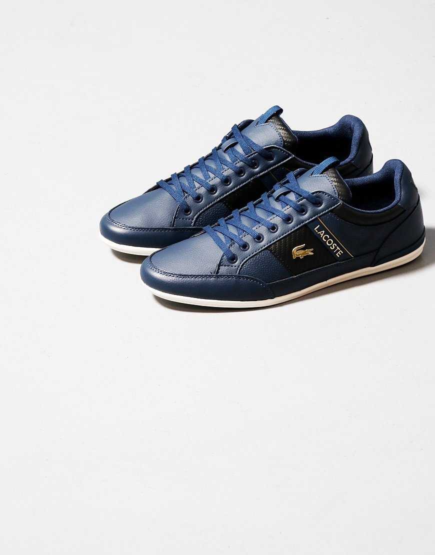 Lacoste Chaymon 120 Trainers Navy/Black