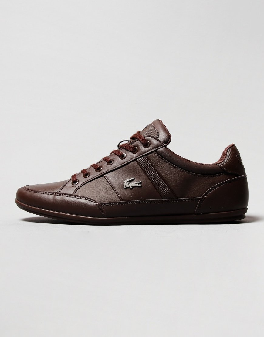 Lacoste Chaymon BL 1 Trainers Brown