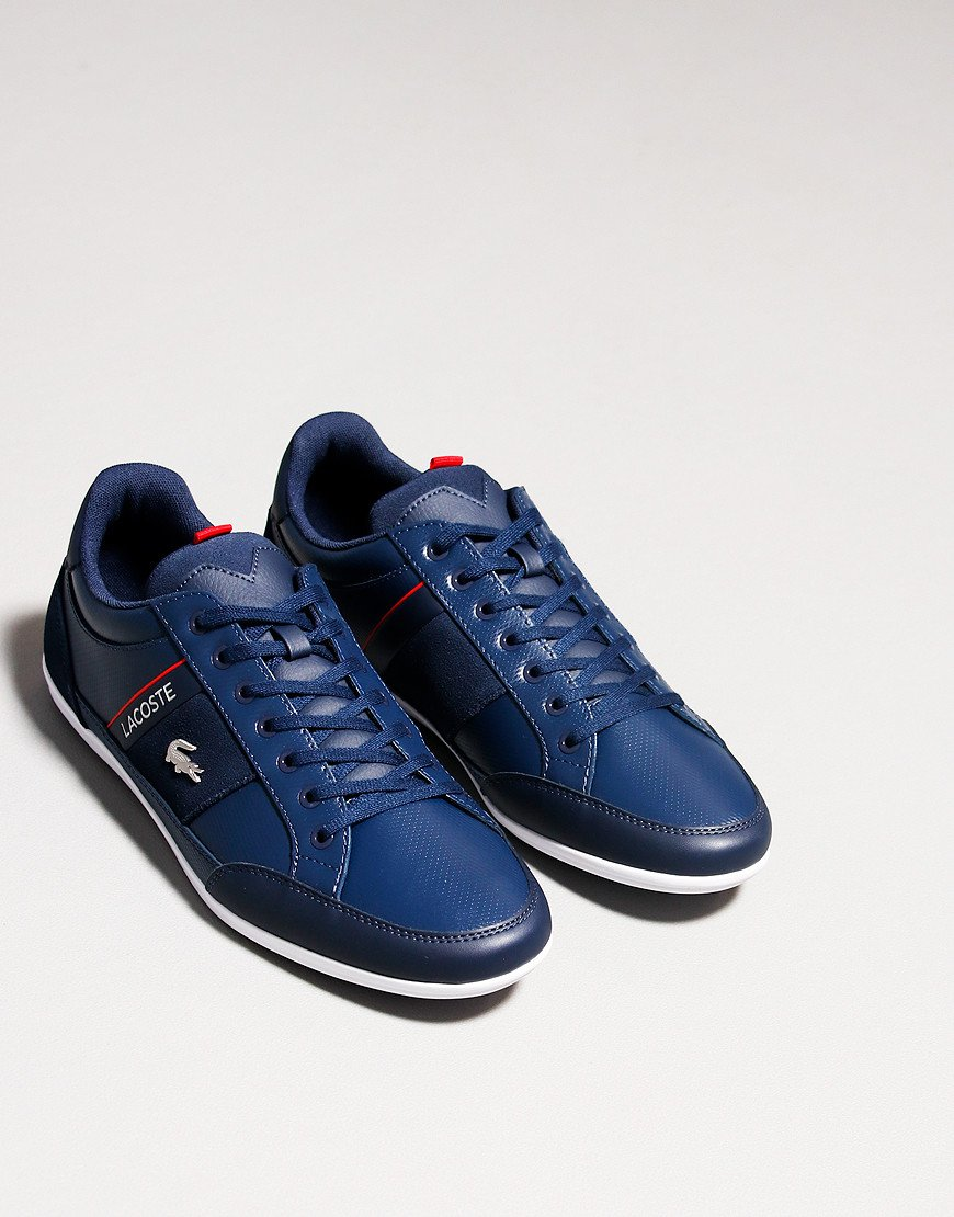 Lacoste Chaymon 0721 Trainers Navy / White