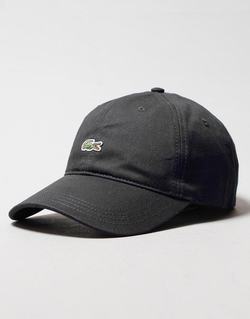 Lacoste Front Logo Cap Black