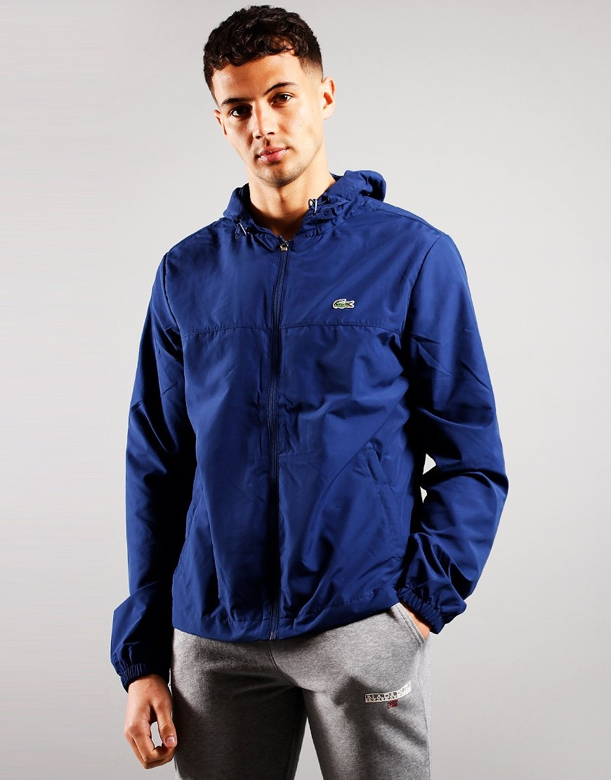 Lacoste Hooded Packable Windbreaker Scille