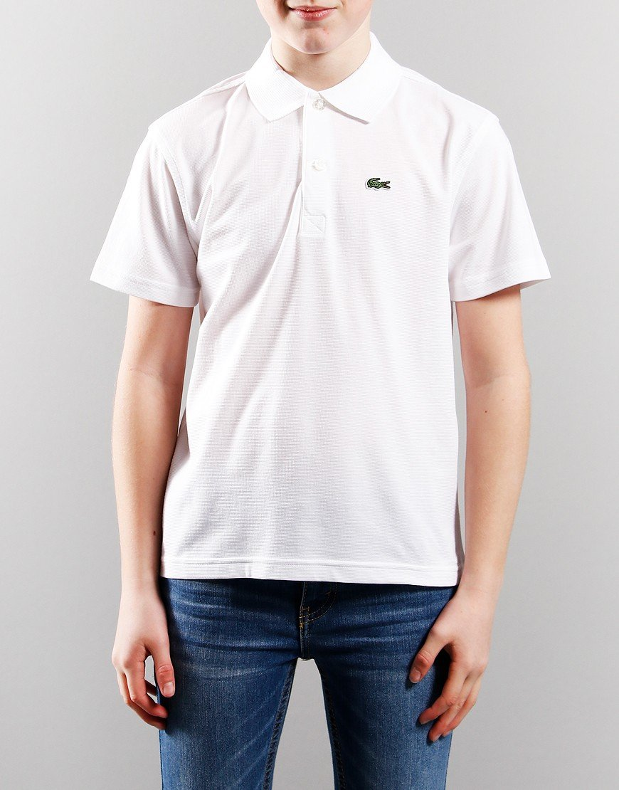 Lacoste Ultra Light Polo Shirt White