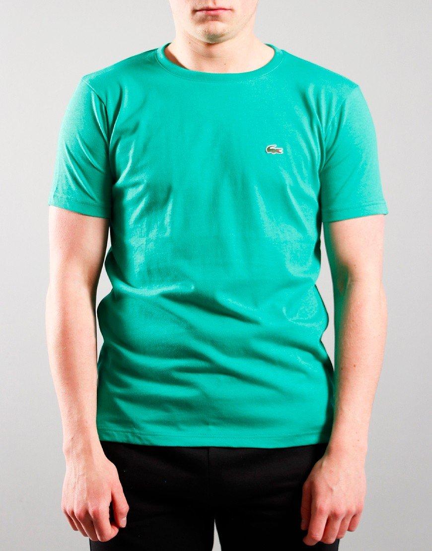 Lacoste Kids Crew Neck T-Shirt Palm Green