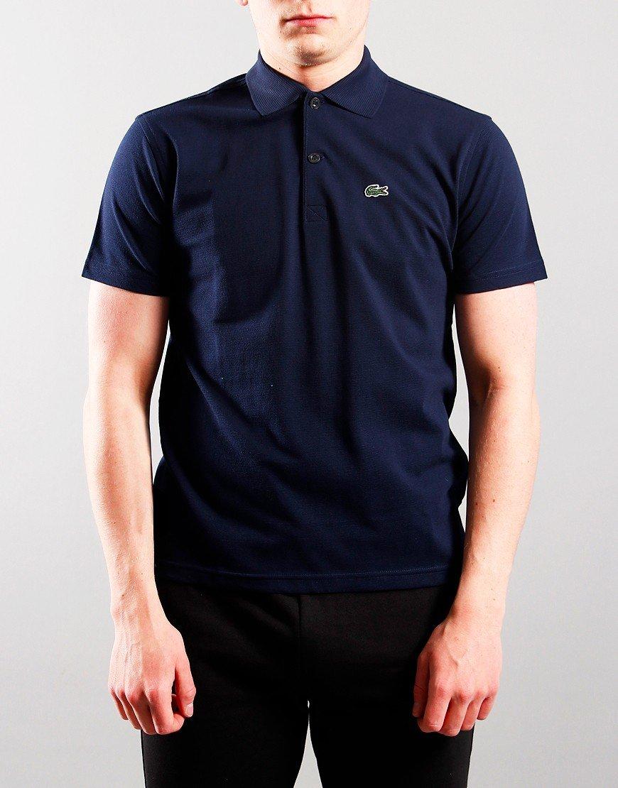Lacoste Kids Plain Polo Shirt Navy