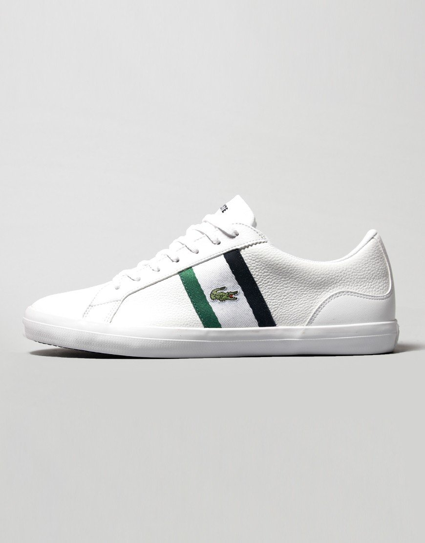 Lacoste Lerond 119 Trainers White/Navy