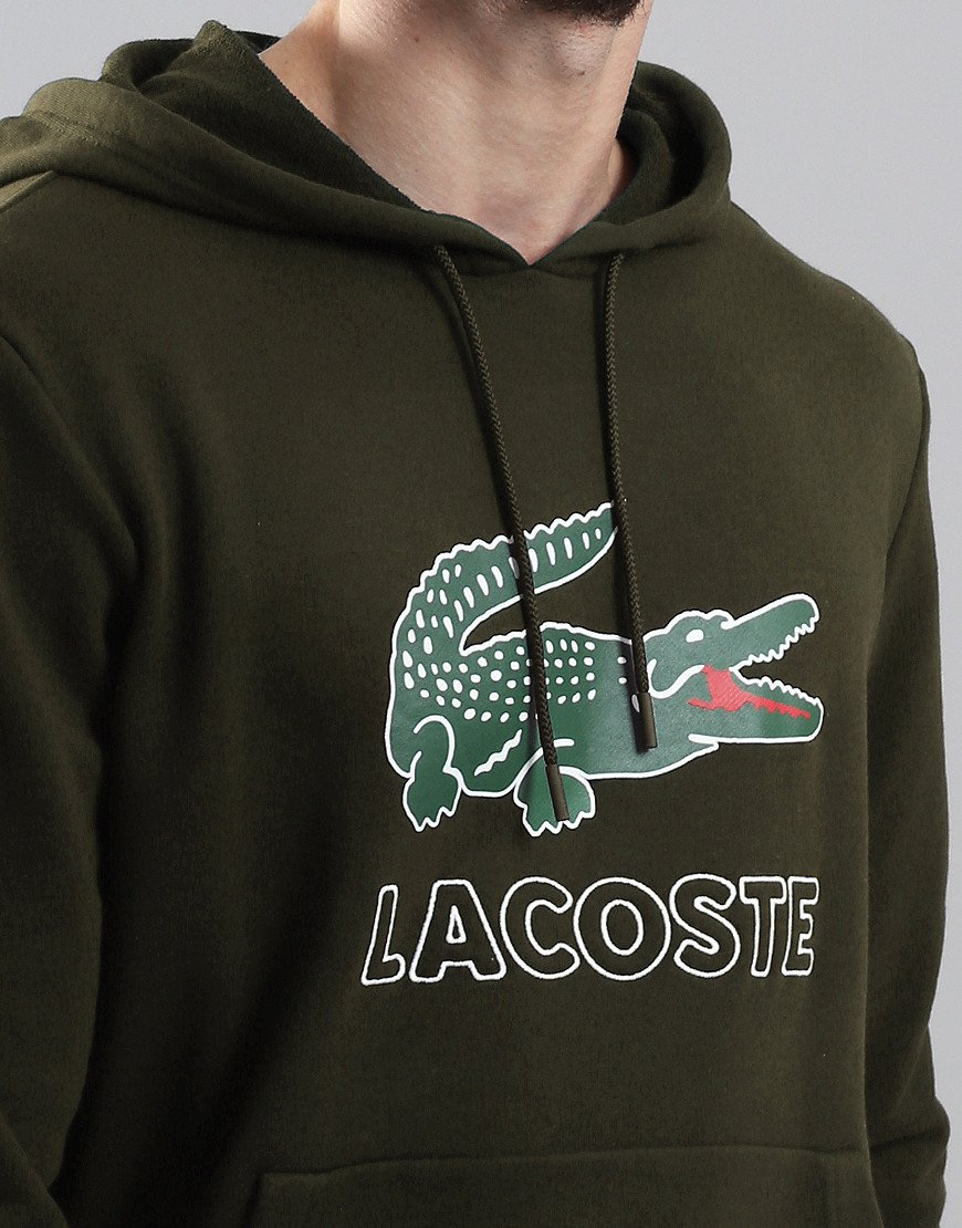 Lacoste Logo Hoodie Baobab