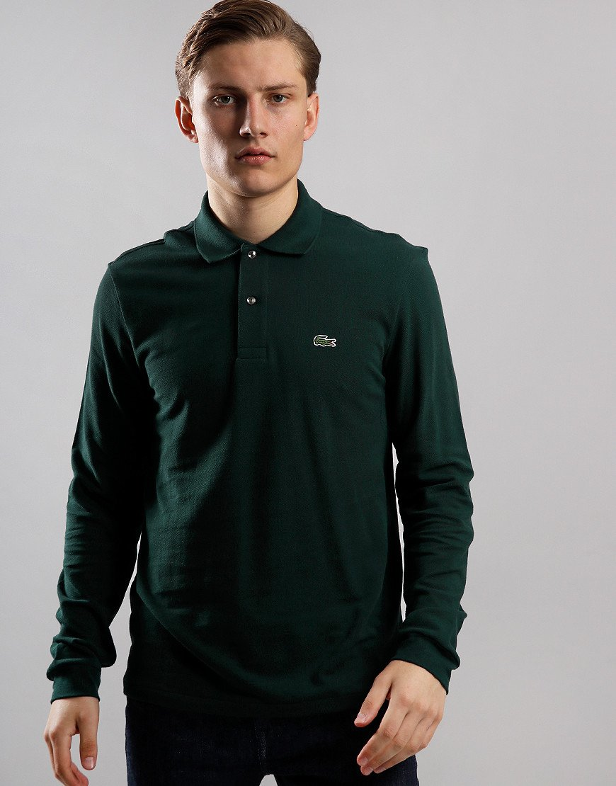 Lacoste Best Long Sleeve Polo Shirt Sinople