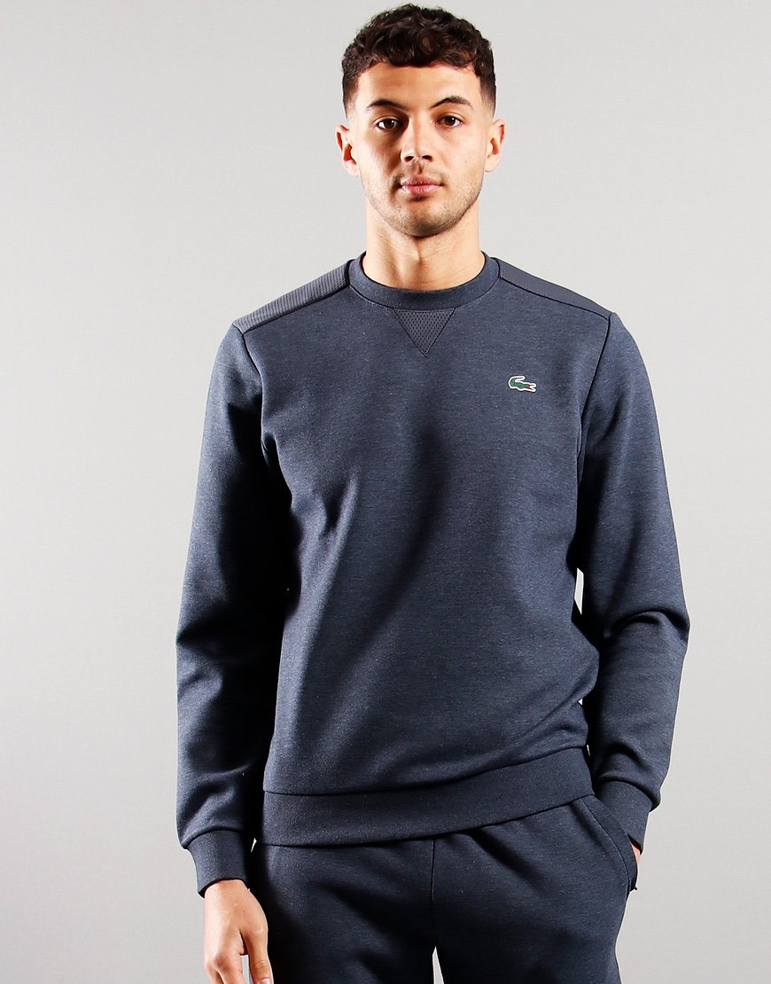 Lacoste Mesh Panel Sweat Pitch Chine