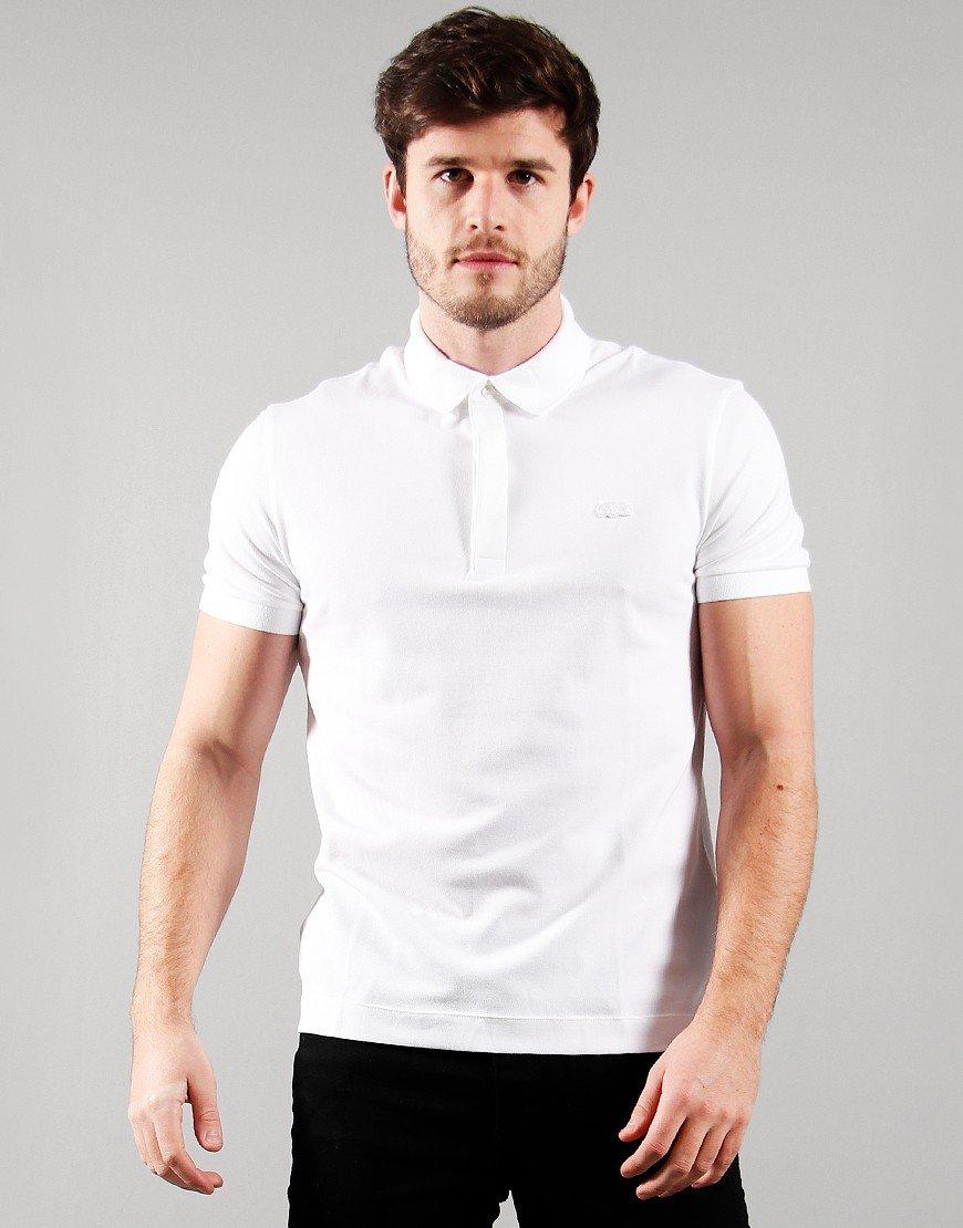 Lacoste Paris Polo Shirt White