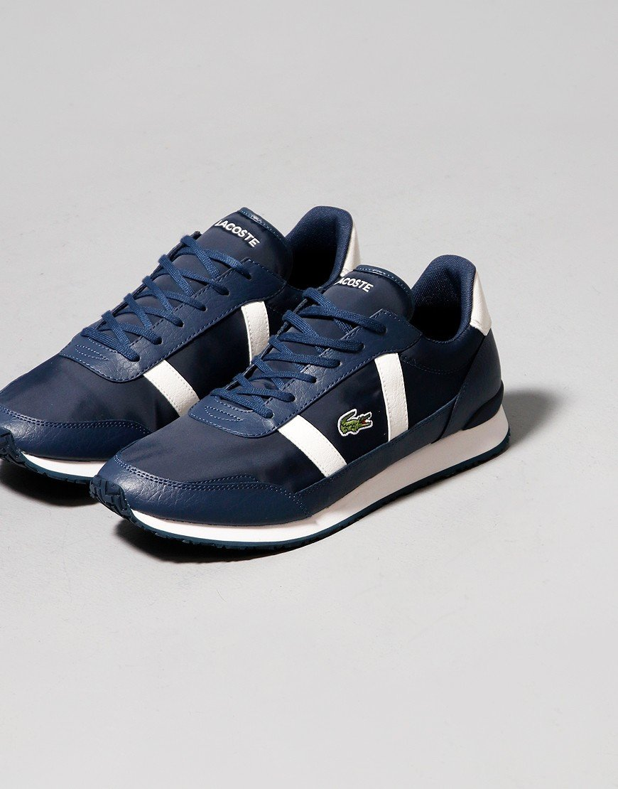 Lacoste Partner 0120 Trainers Navy/Off White