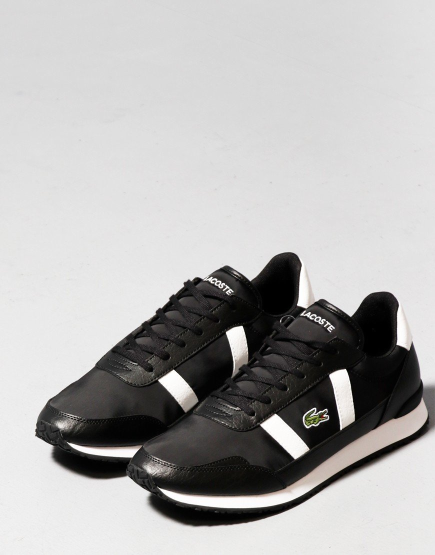 Lacoste Partner 0120 Trainers Black Off White