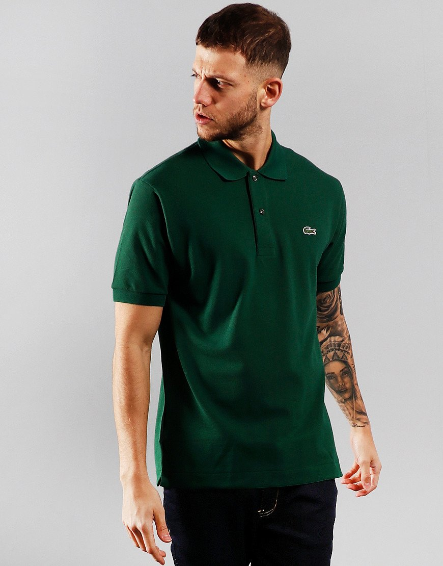 Lacoste Best Polo Shirt Green