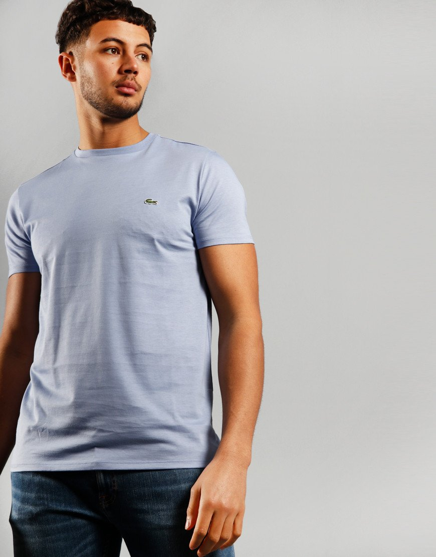 Lacoste Plain  T-Shirt Purpy