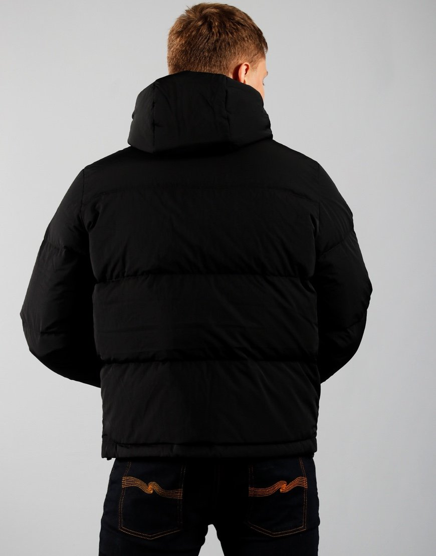 Lacoste Short Lightweight Puffer Jacket Black