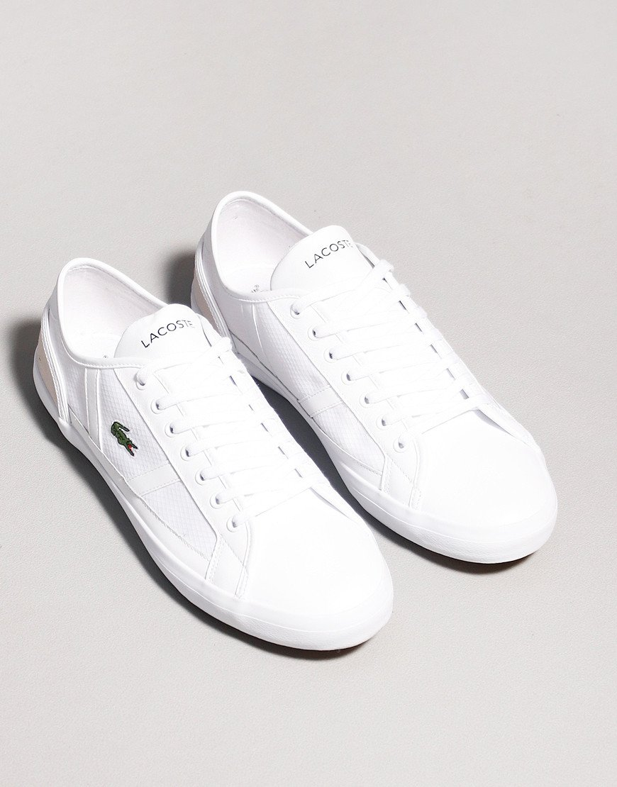 Lacoste Sideline Trainers White / White