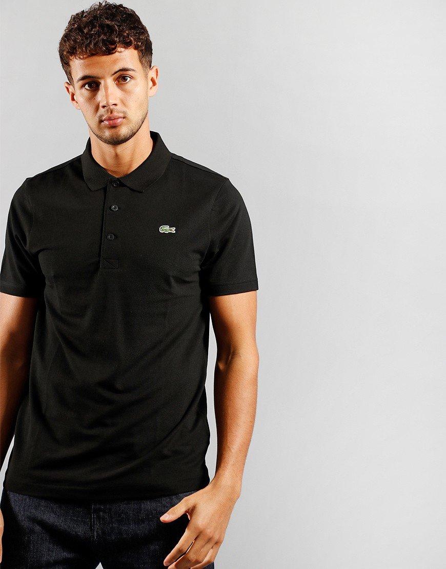 Lacoste Sport Cotton Blend Polo Black