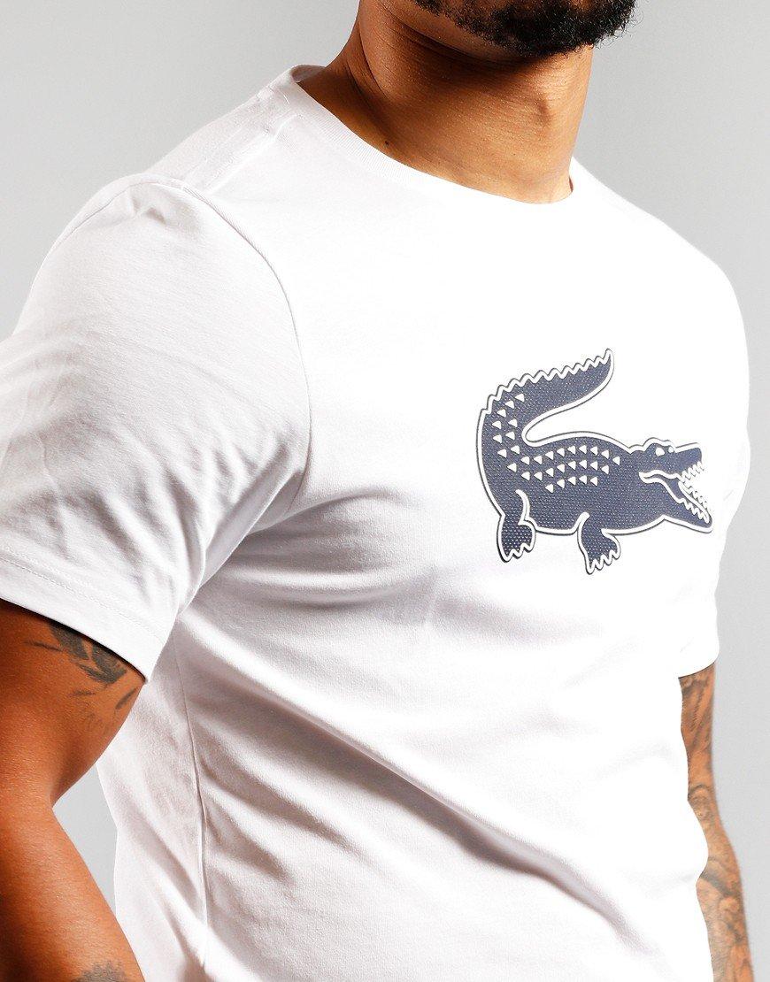 Lacoste Sport Crocodile T-Shirt White