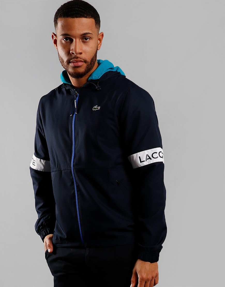 Lacoste Sport Taped Jacket Navy Blue