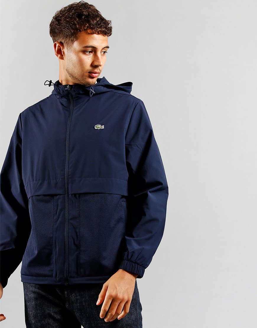 Lacoste SPORT Windbreaker Navy