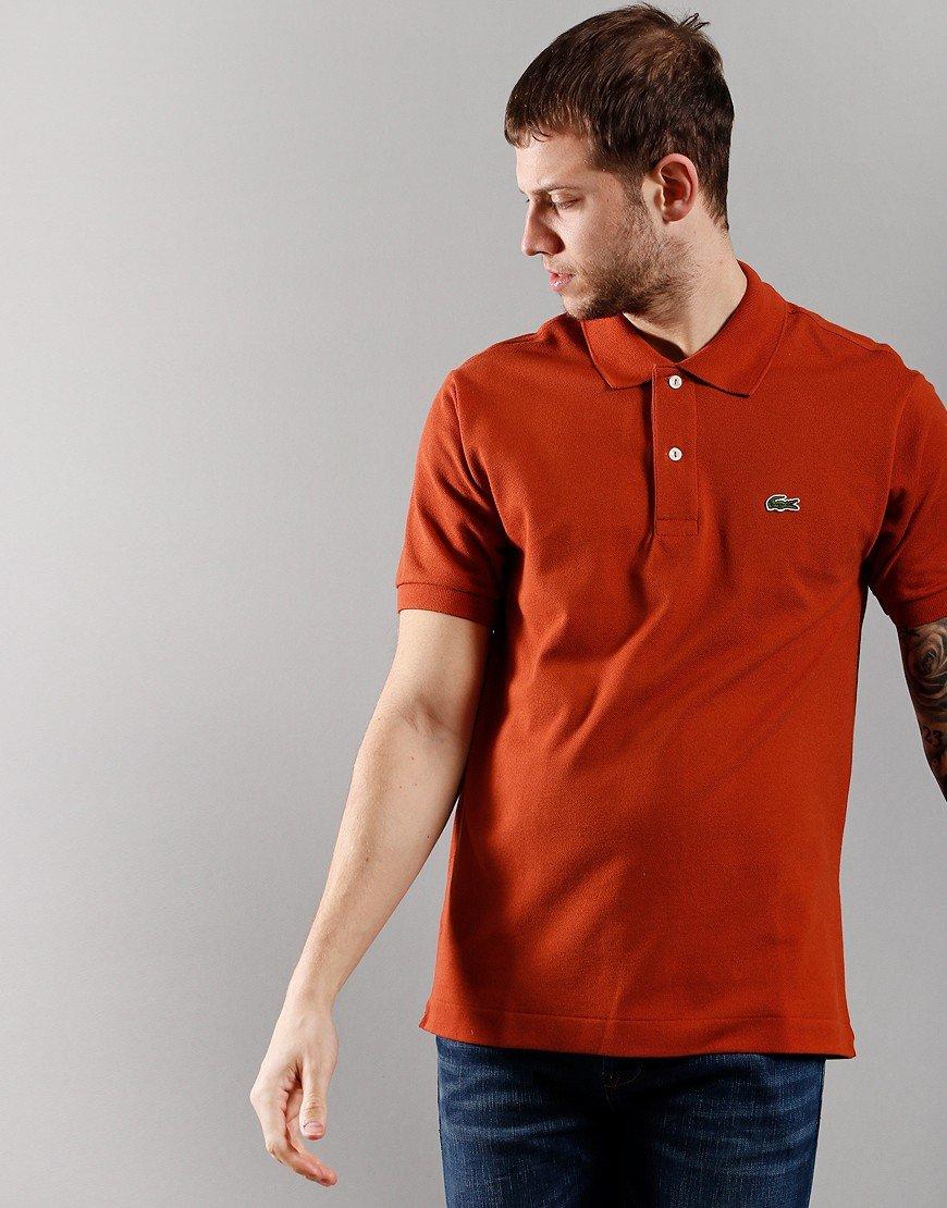 Lacoste Short Sleeve Best Polo Shirt  Briquette