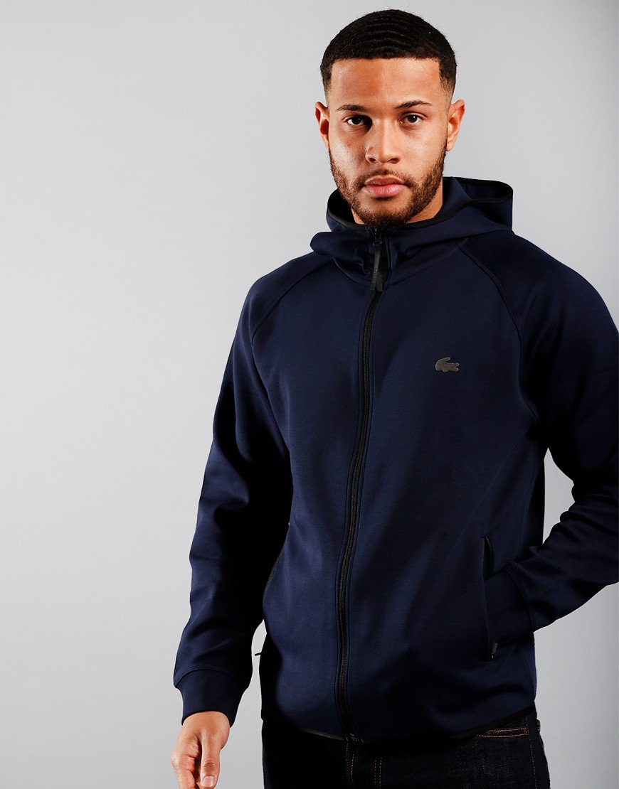 Lacoste Motion Technical Hooded Sweat Navy