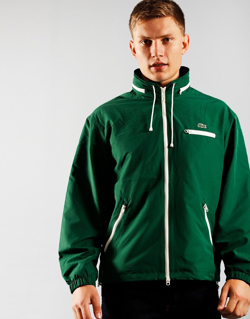 Lacoste Windbreaker Jacket  Green