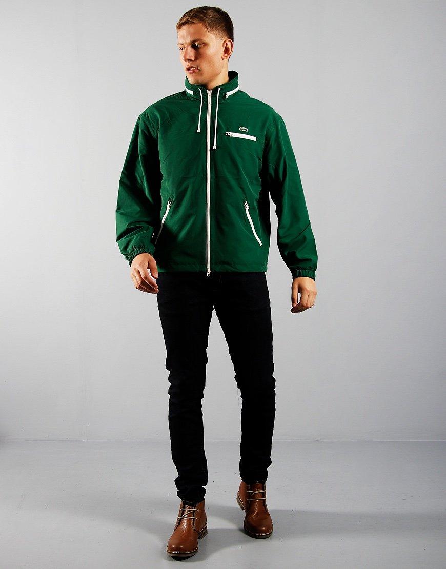 Lacoste Windbreaker Jacket Green