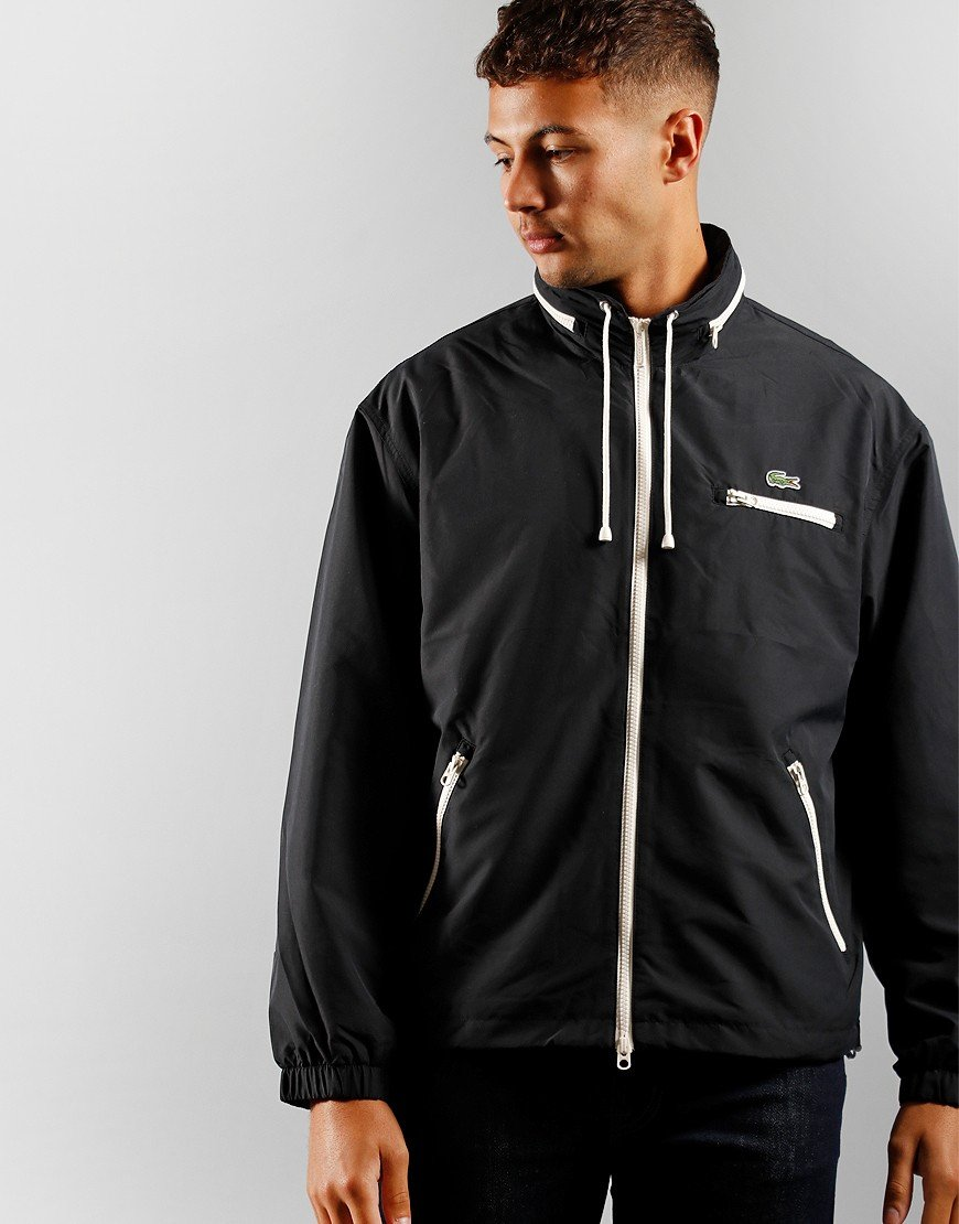 Lacoste Windbreaker Jacket  Black