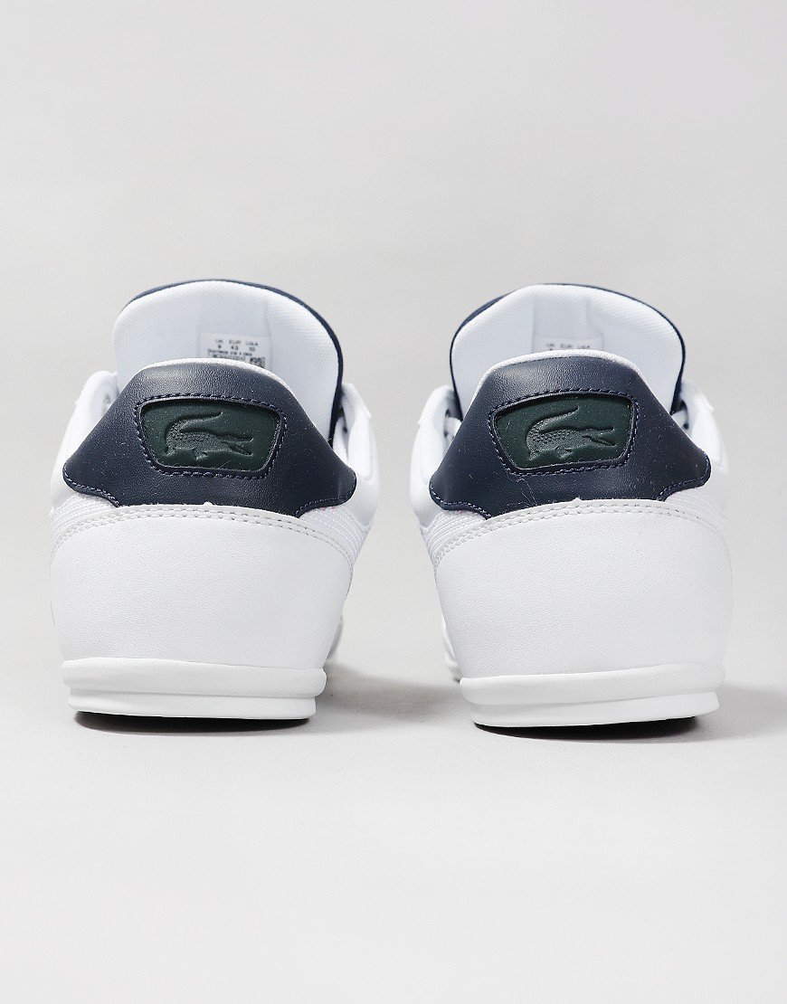 Lacoste Chaymon 319 Leather Trainers White/Navy