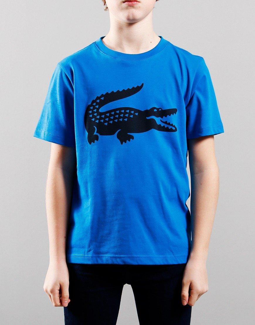 Lacoste Kids Croc T-shirt Ultramarine