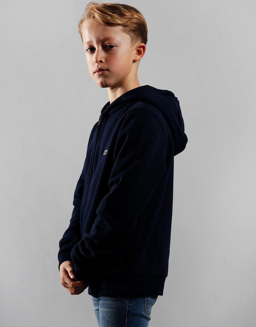 Lacoste Kids Hoodie Navy Blue/Navy Blue
